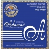 Adamas (664684) Phosphor Bronze Nuova powlekane struny do gitary akustycznej - Medium .013-.056