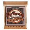 Ernie Ball 2150 Extra Slinky Phosphor Bronze Acoustic Guitar Strings (10-50)