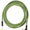 Fender Festival Pure Hemp Green guitar cable 5,6 m / 18,6 ft