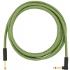 Fender Festival Pure Hemp Green guitar cable 3 m / 10 ft