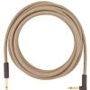 Fender Festival Pure Hemp Brown Stripe guitar cable 5,6m / 18,6 ft