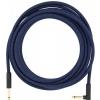 Fender Festival Pure Hemp Blue Dream guitar cable 5.6 m/18,6 ft
