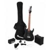 Ibanez IJRX20-BKN Jumpstart Starter Set Black gitara elektryczna + wzmacniacz + pokrowiec + kostki + tuner + pasek