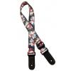 Gaucho GSTU-80 MC ukulele strap, Multicolor