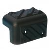 Adam Hall Hardware 4013 - Profil kątowy do głośników, tworzywo sztuczne, możliwość ułożenia w stos, czarny