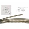 Boston 0716062 fretwire, 12% nickel silver, h=0,7 w=1,6 g=0,6mm