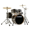 Sonor AQ1 Stage Set Woodgrain Black drum set