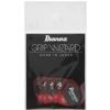 Ibanez PPA16 MSG RD zestaw kostek gitarowych Flat Pick Sand Grip 6 sztuk