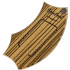 Schlagwerk Percussion SJ110Z SamJam Guitar Snare Zebrano Design instrument perkusyjny