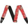 Fender 2″ Hawaiian Strap, Red Floral
