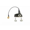 KNA Pickups VV-3V  Portable piezo pickup with volume control for violin and viola